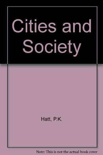 9780029141700: Cities and Society