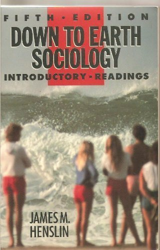 9780029144510: Down to Earth Sociology Introductory Readings