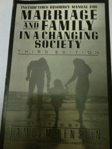 Marriage and Family in a Changing Society: n/a