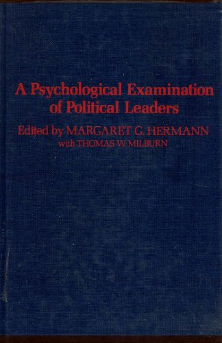 9780029145906: Psychological Examination of Political Leaders