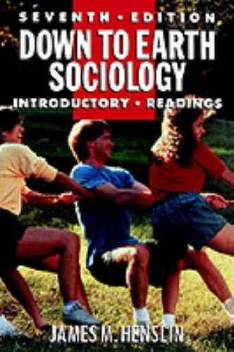 9780029146651: Down To Earth Sociology Seventh Edition