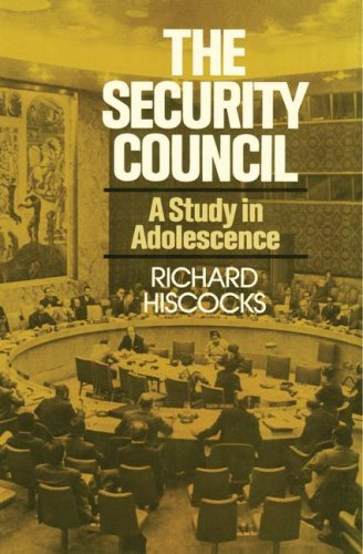 9780029147603: The Security Council (A Study in Adolescence)