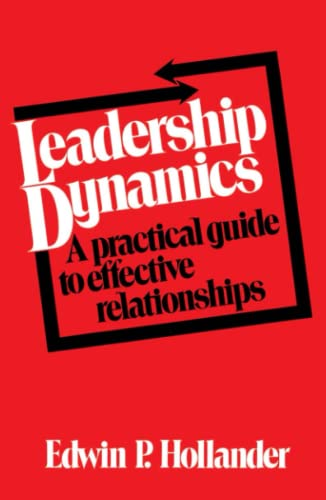 9780029148303: Leadership Dynamics