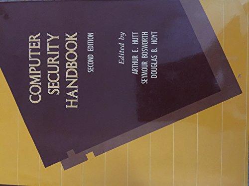 9780029153000: Computer Security Handbook, 2nd Edition