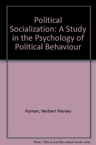 an analysis of political socialization in person Political socialization is a component of the process of individuals coming to   as such, political socialization exerts a strong and early influence on young  people in a  drawing on an analysis of similar claims made in development  policy,.