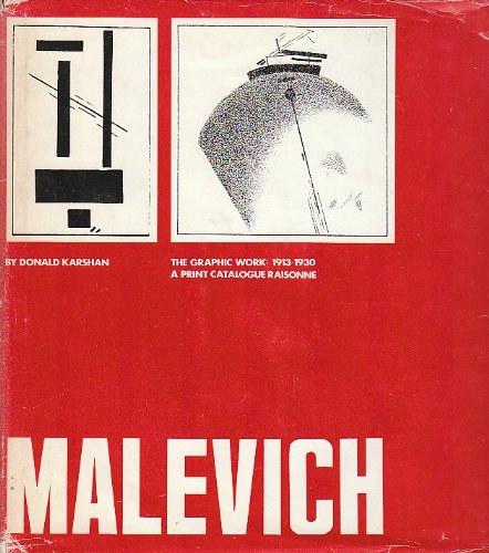 9780029159101: Malevich the Graphic Work 1913-1930