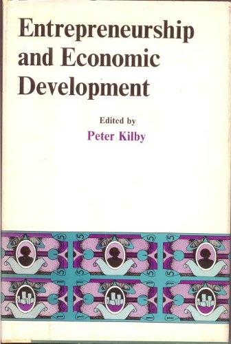 9780029172704: Entrepreneurship and Economic Development