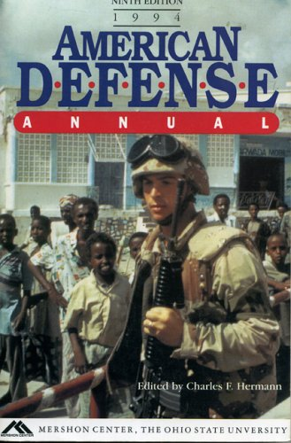 9780029176764: American Defence Annual, 1994 (American Defense Annual)