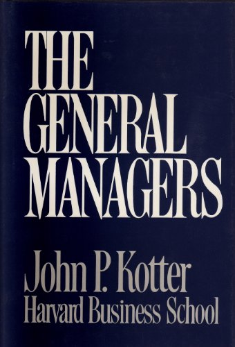 9780029180006: The General Managers