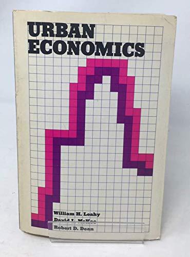 9780029182802: URBAN ECONOMICS