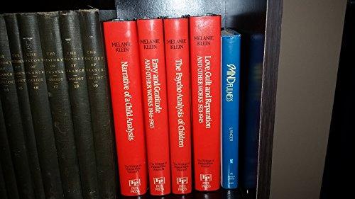 9780029184608: Writings of Melanie Klein (Four-Volume Set)