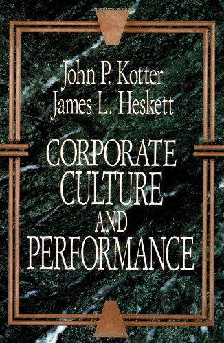 9780029184677: Corporate Culture and Performance