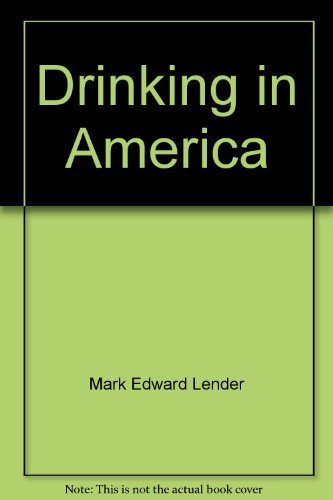 9780029185308: Drinking in America