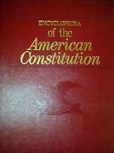 9780029186800: Encyclopedia of the American Constitution, Vols. 1 and 2