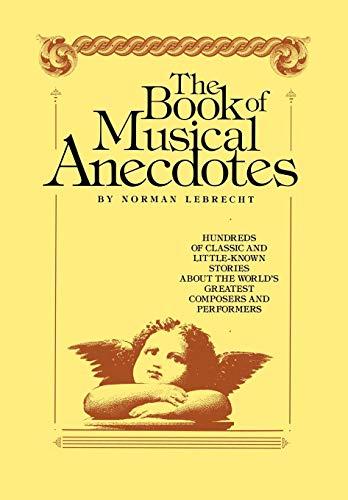 9780029187104: Book of Musical Anecdotes