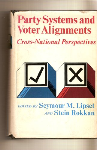 9780029191507: Party Systems and Voter Alignments: Cross-National Perspectives