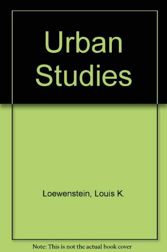 9780029194409: Urban Studies