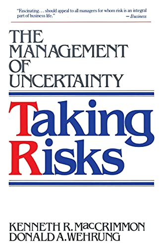 9780029195635: Taking Risks: The Management of Uncertainty