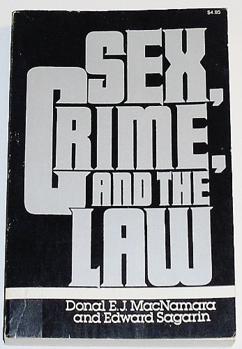 9780029196908: Sex, Crime and the Law