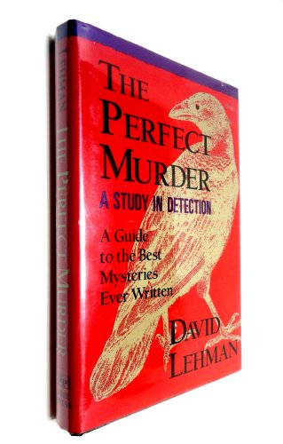 9780029197707: Perfect Murder: A Study in Detection