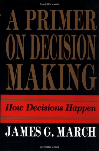 9780029200353: A Primer on Decision Making