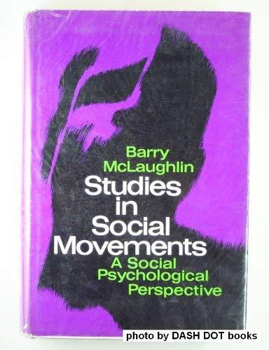 9780029205600: Studies in Social Movements