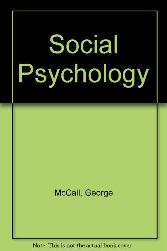 9780029206409: Social Psychology