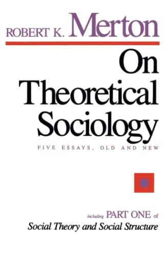 9780029211502: On Theoretical Sociology