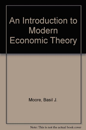 9780029219607: An INTRO TO MODERN ECONOMIC THEORY