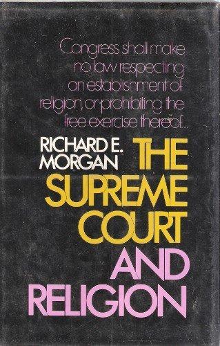 9780029219706: Supreme Court and Religion