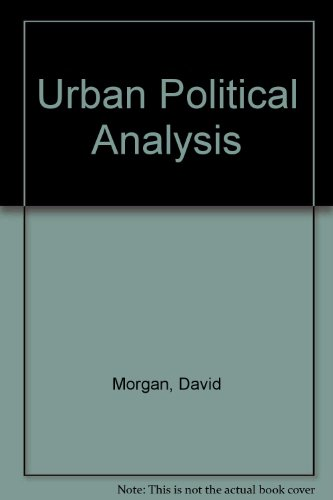 9780029220603: Urban Politics Analysis