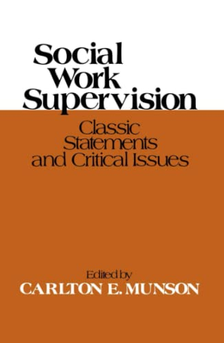 9780029222805: Social Work Supervision
