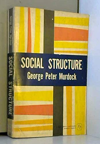 9780029222904: Social Structure