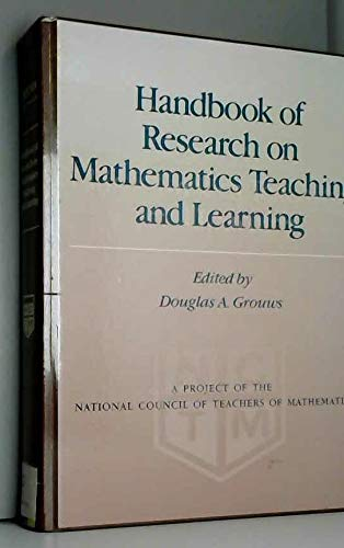 9780029223819: Handbook of Research in Mathematics Teaching and Learning