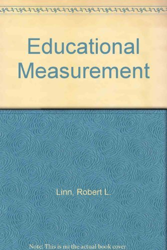 9780029224007: Educational Measurement (The American Council on Education/Macmillan series on higher education)