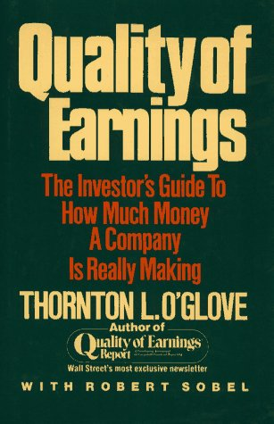 9780029226308: Quality of Earnings: The Investor's Guide to How Much Money A Company is Really Making