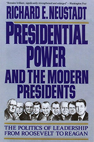 9780029227954: Presidential Power and the Modern Presidents