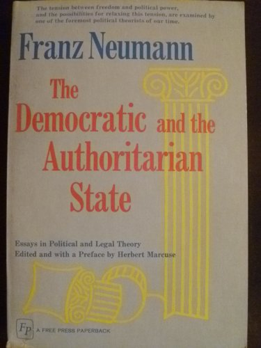 9780029229101: Democratic and Authoritarian State