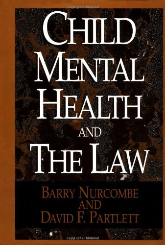 9780029232453: Child Mental Health and the Law