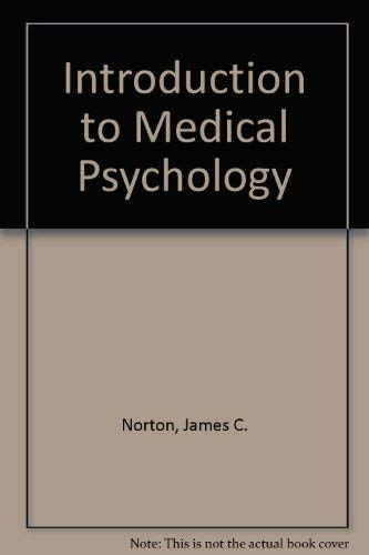 9780029232903: Introduction to Medical Psychology