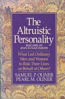 9780029238301: The Altruistic Personality : Rescuers of Jews in Nazi Europe