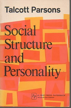 9780029248409: Social Structure and Personality