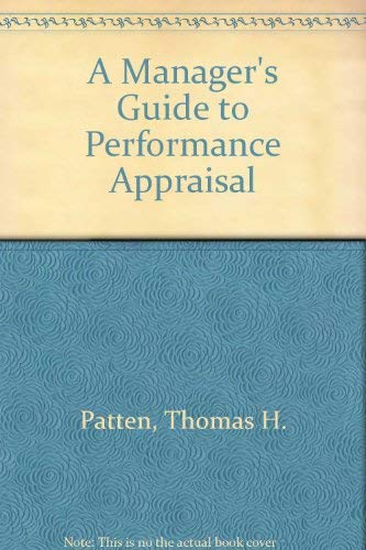 A Manager's Guide to Performance Appraisal: Pride, Prejudice, and the Law of Equal Opportunity