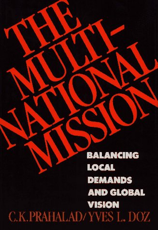 9780029250501: The Multinational Mission