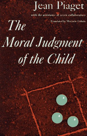 9780029252406: The Moral Judgment of the Child