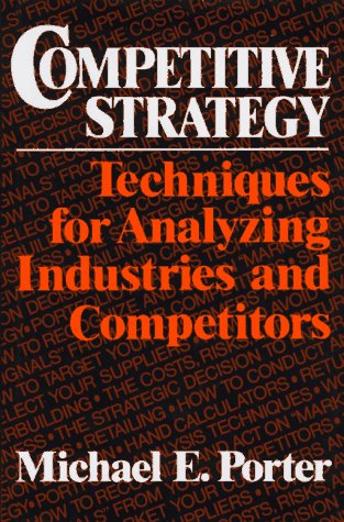 9780029253601: Competitive Strategy: Techniques for Analyzing Industries and Competitors