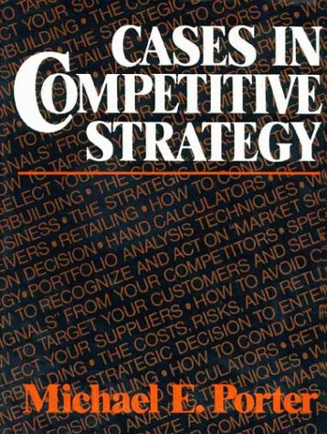 9780029254103: Cases in Competitive Strategy