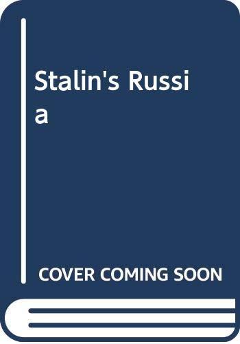 9780029258101: Stalin's Russia