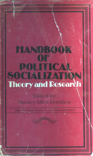 9780029263402: Handbook of Political Socialization: Theory and Research (The Free Press series on political behavior)