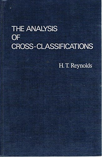 9780029263907: The Analysis of Cross-Classifications